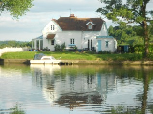 The house across the river
